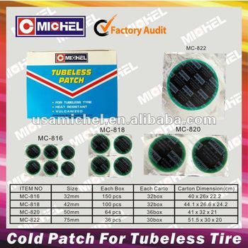 Hot Sale Tubeless Rubber Patchs