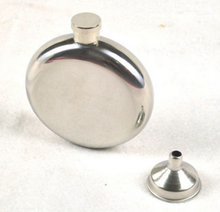 110g 5 oz Mirror Smooth Carry Portable Stainless Steel Round Hip Stainless Steel Hip Flask