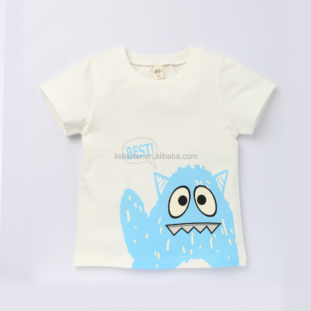 2017 new style children t-shirt customized logo t-shirt for boys and girls lady t-shirt