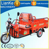 low price cargo and passenger delivery double-service electric tricycle/ISO electric truck China manufacturer