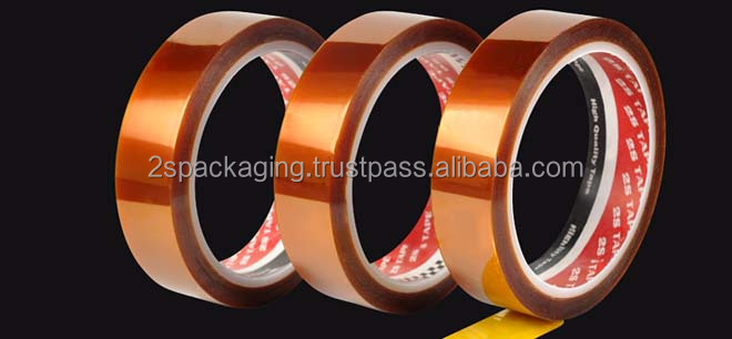 Polyimide Tape with Excellent Removal Properties without Leaving Sticky Residue
