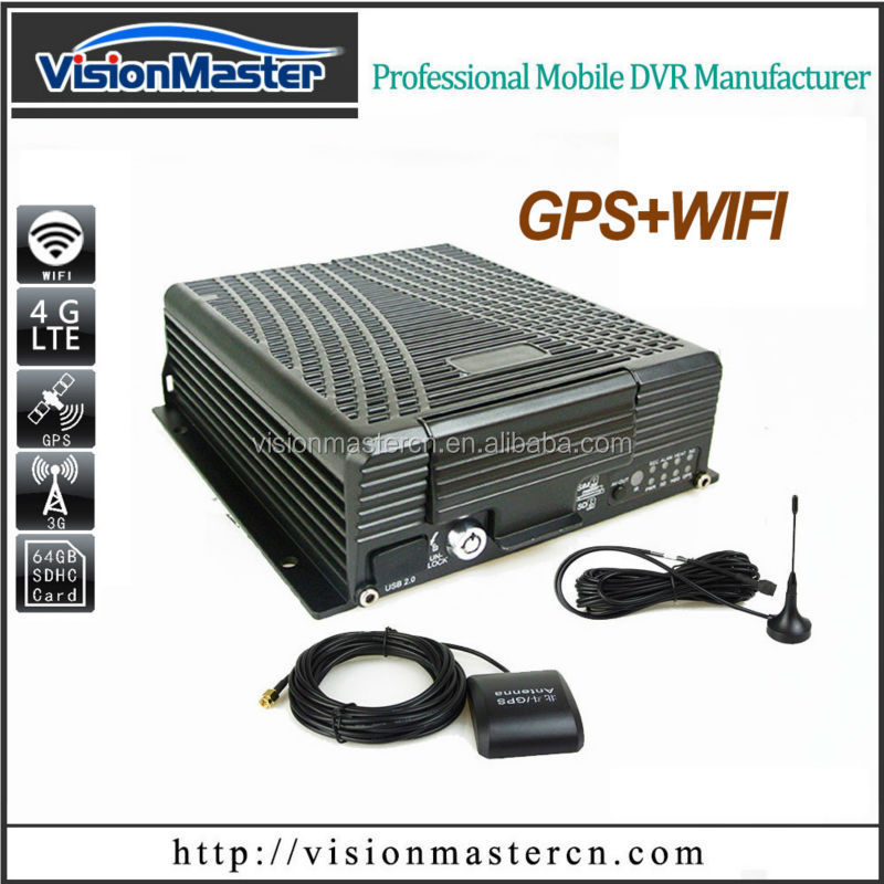 Visionmaster mobile vehicle in shenzhen 4tb hdd 3g 4g wifi gps for 3g alarm system