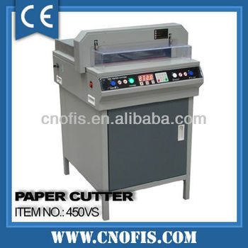 450 Digital paper cutter machine electric cutting for paper
