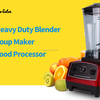 Heavy Duty Power Red Blender Soup