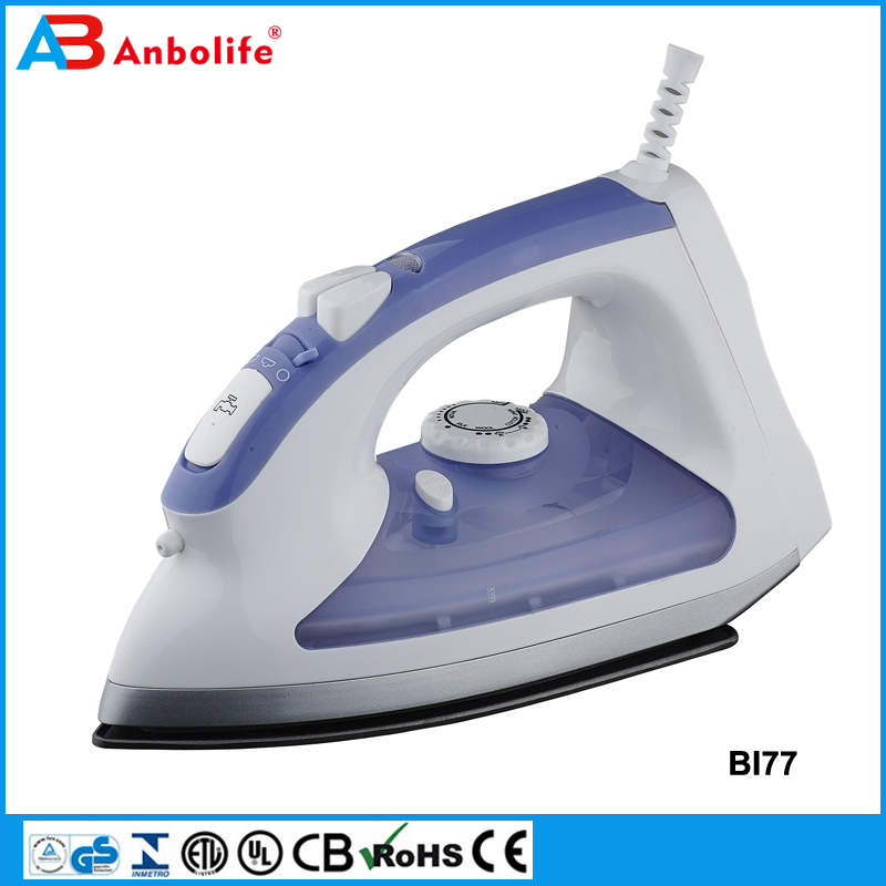 Anbolife Electric Steam Iron 220V 1400W Clothes Steamer Non Stick Plate