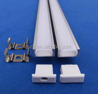 Customized Length(1m 2m 3m)LED Aluminium Extrusion Profile for 3528/5050/5630/5730/7020 LED Rigid Bar Light