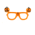 orange color LED Halloween pumkin glasses