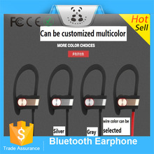 Fashion Bluetooth Earphones Q7 V4.1 Wireless Sport Stereo In-Ear Noise Cancelling Sweatproof Headset Metal Texture