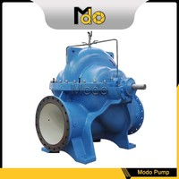 Split case water pumping machine with high capacity