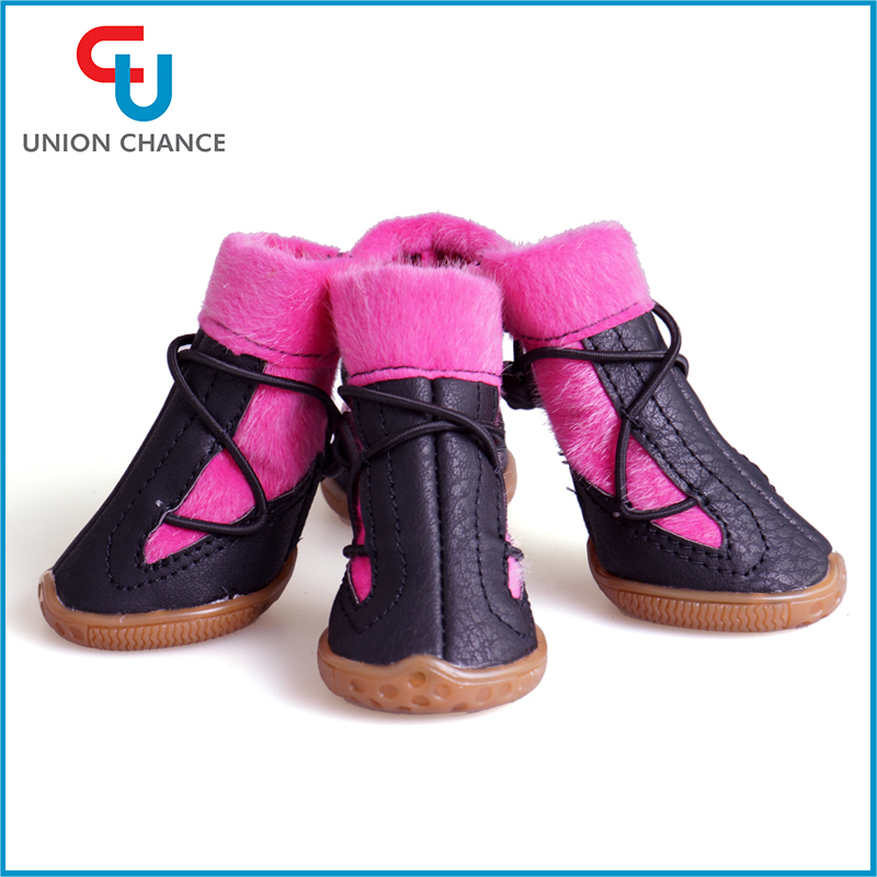 Waterproof Pet Dog Boots Dog Shoes Puppy Fashion Boots Anti Slip Pet Boots