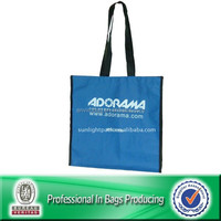 Custom Cheap Polyester Folding Shopping Reusable Bags Wholesale Tote Bag