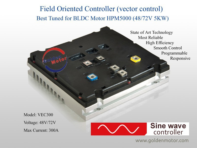 Sine Wave Vector BLDC Motor Controller for 3KW-20KW