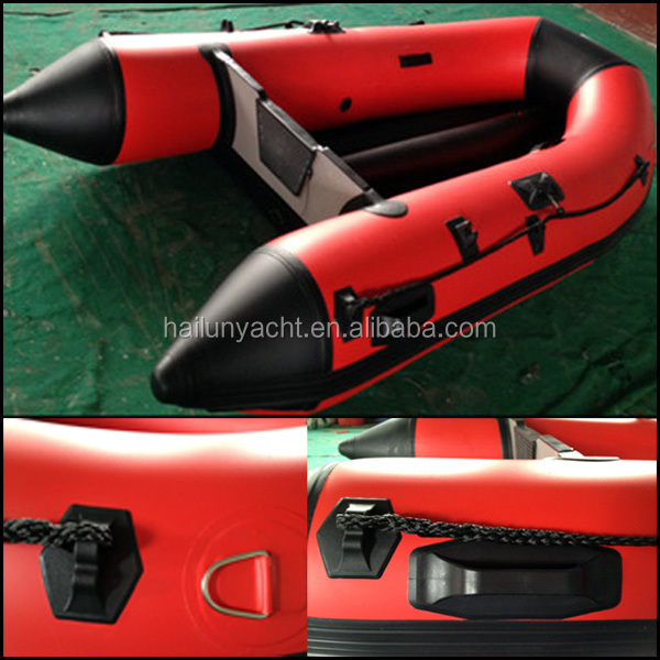 cheap china pvc aluminium floor inflatable boat fishing boat