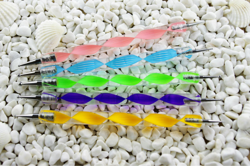 5pcs Nail Art Dotting pen brush set