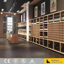 Modern Fashion Liquor Store Shelving Suppliers with Solid Wood Made in China