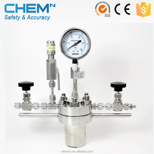 lab scale pyrolysis reactor chemical pressure vessel