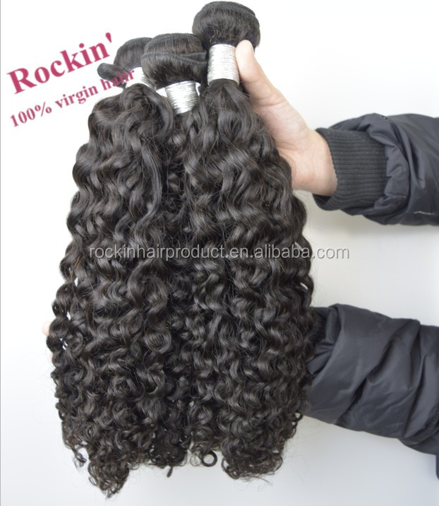 Wholesale unprocessed 8a virgin indian hair Straight, Body Wave, Curly