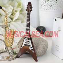 Mini guitar/ miniature electric guitars toy/ 2013 guitar themed kids gift for wooden handmade crafts
