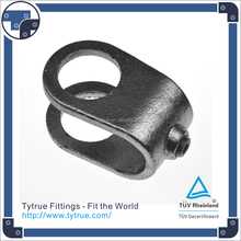 160 clamp on cross malleable iron pipe clamp fittings