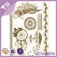 Drawing Color Pen,Tree Leaves Temporary,Sticker Tattoos