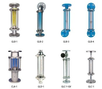 glass taper tube flow meters