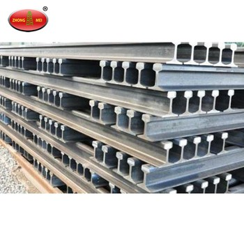 High Quality Q235 material 12 Kg/M Railway Light Steel Rail Track Manufacturer