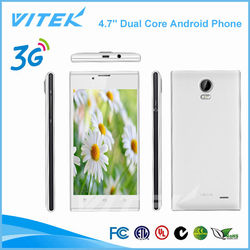 China OEM Manufacturer 4.7'' 1.2GHz Dual Core super slim Cell Phone