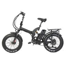 13Ah lithium battery 48v 500w bafang rear drive super power ebike fat tire full suspension folding electric bike
