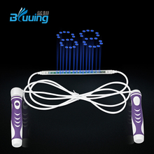 Bluuing Smart skipping rope Cool led light digits skipping rope counting jump rope