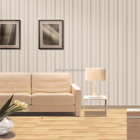 stripe washable nonwoven home wallcovering