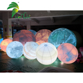 Decoration Inflatable Air Planet Lighting Balloon For Promotional Event