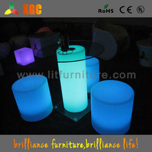 hot sale led furniture/table for beer garden/plastic table transparent