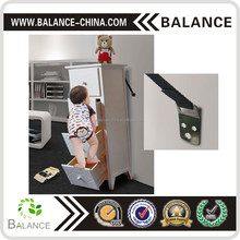 metal mounting Bracket Clamp with easy installation for baby safety TV wall furniture strap