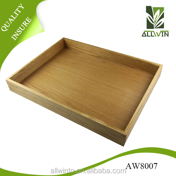OEM Bamboo wood wholesale food wooden serving tray