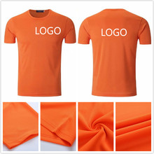 Blank polyester men breathable running t-shirt dry fit