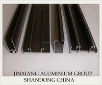 Anodized Bronze Aluminium Profiles to Bolivia / plexiglass awning for door