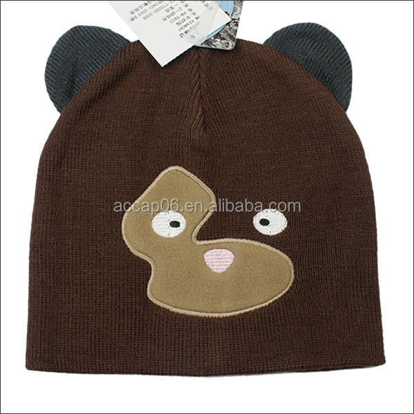 funny adult animal winter hats