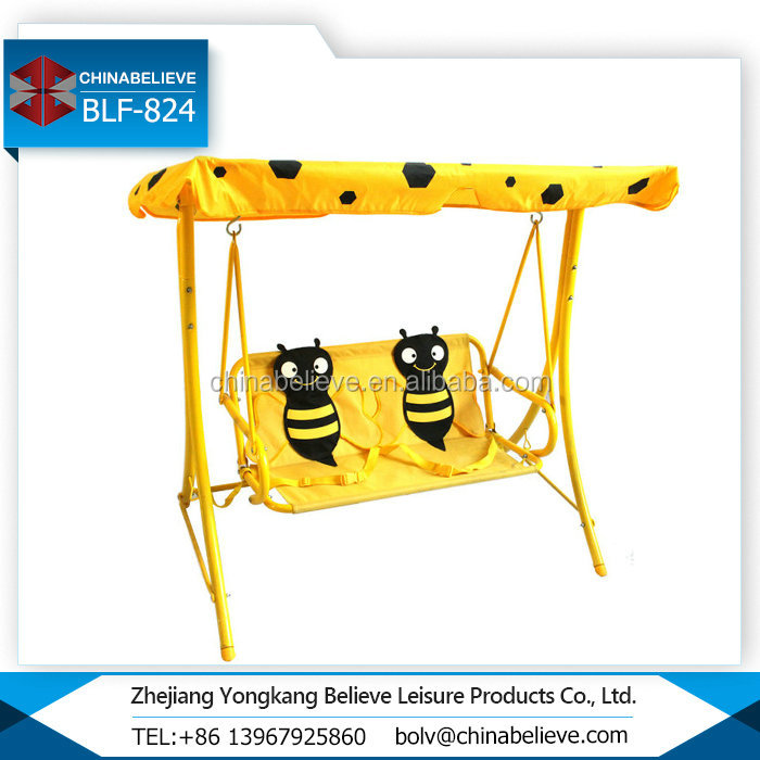 Factory Wholesale Kids Seaters Patio Swing Hanging Chair For Baby
