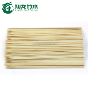 Grade A wooden flat skewers/ bamboo product for BBQ tool