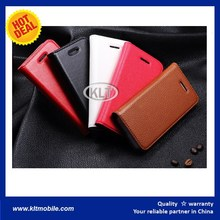 KLT- Flip Case Stand Wallet Clemence Leather Case wholesale For Samsung Galaxy S2 I9100