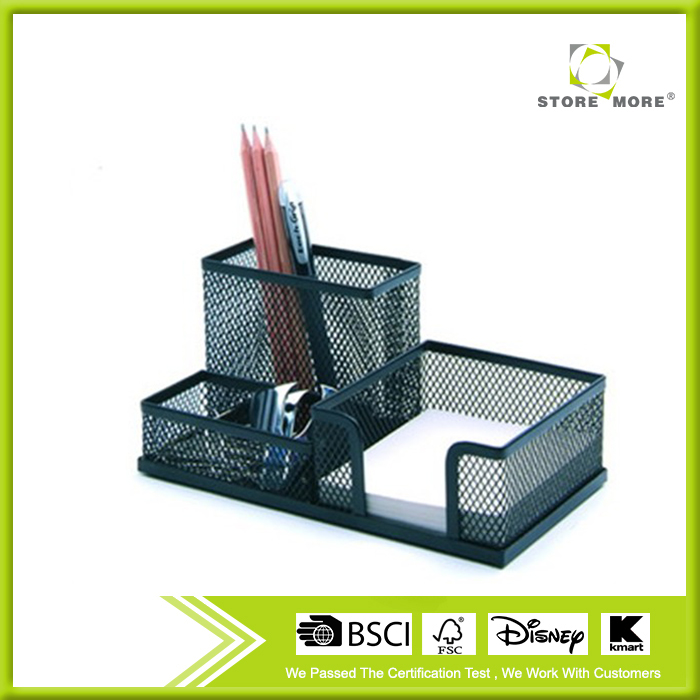 Store More Durable Office Desktop Organizer with Pen Memo Holder