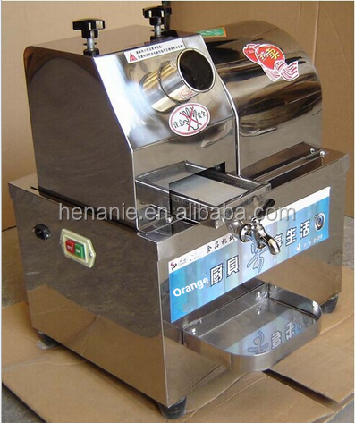 Low power consumption 4 rollers stainless steel electric sugar cane juicer machine