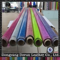 Factory Direct Glitter PVC Imitation Leather For Sofa Upholstery