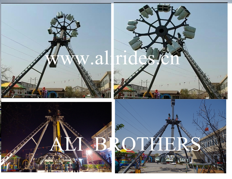 [Ali Brother]Hot sell Amusement Park outdoor Big Pendulum ride with 360 degree