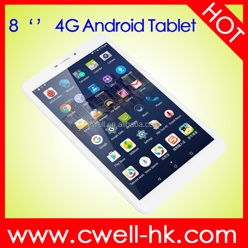 8 inch IPS 4G LTE Tablet PC Android 5.1 Lollipop Quad Core 1GB+16GB 5MP Dual Cameras Dual Sim GPS UNIWA L831
