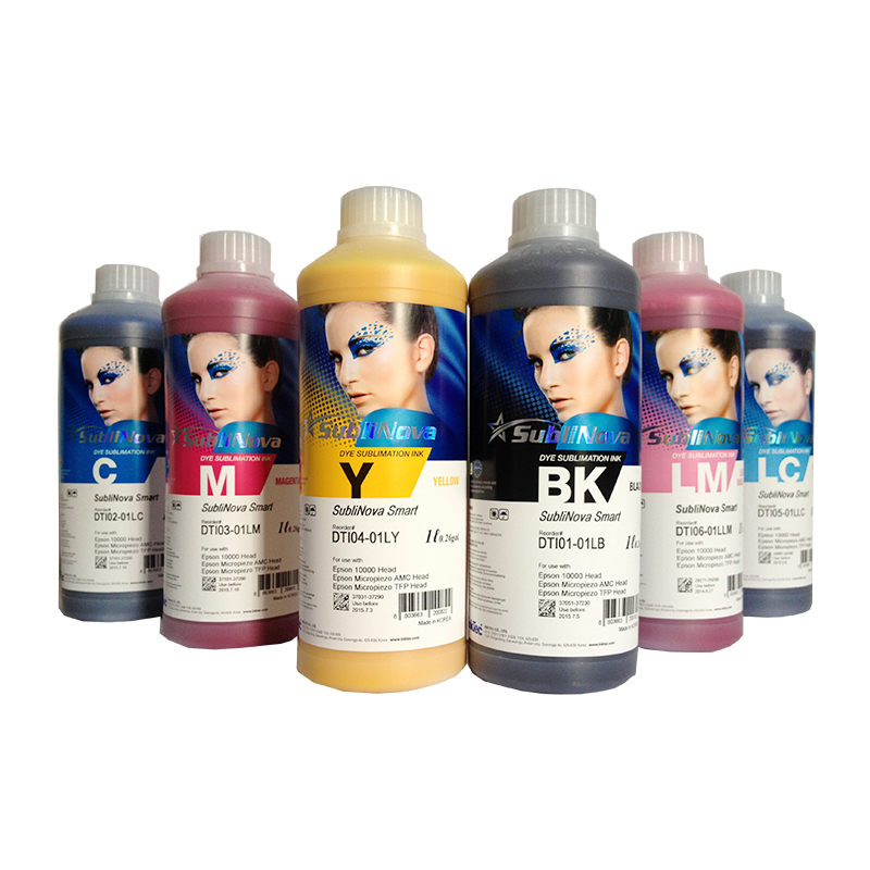 Factory directly sell inktec sublinove bulk sublimation digital ink for printers