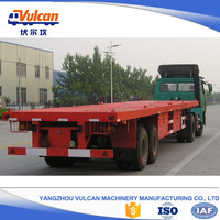 2016 customized 2 axles flatbed semi trailer for tractors sale