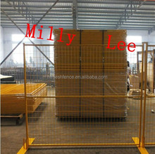 best quality portable construction sites security canada temporary fencing panel/ mobile-guard fencing panel