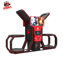 Long life span guangdong family simulator kids standing vr amusement with 360 degree scene+battle 9d movies cinema
