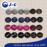 2015 Manufacture colourful Agoya shell buttons